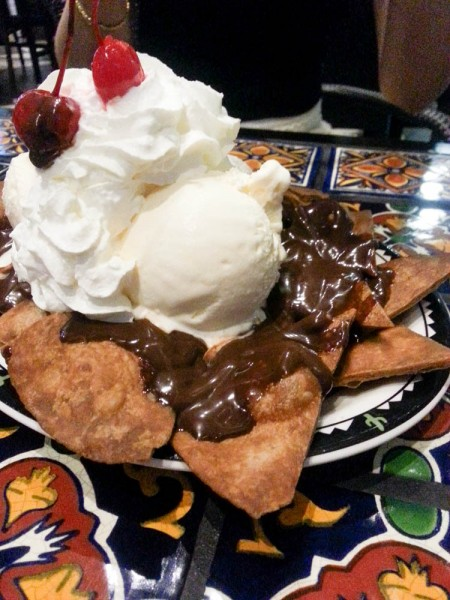 Chocolate Nachos