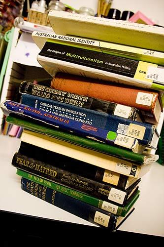 white aus books